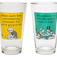 someecards Pint Glass