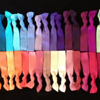 Individual Solid Elastic Hair Ties (and bracelets)