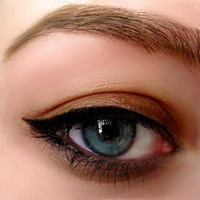 All Natural Mineral Gel Eyeliner in INTENSE BLACK   Organic Eyeliner  easy to use