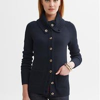 Button-neck cardigan | Banana Republic