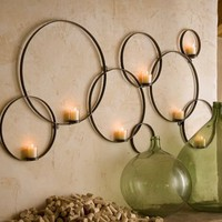 Circles Candle Holder