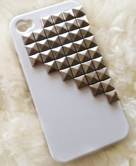 Pyramid Studded iPhone 5 Cell Phone Case | Avant-Garde Boutique on