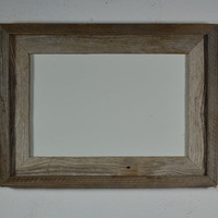 Natural barnwood picture frame 8x12 great for that just bought Etsy art