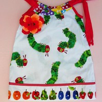 Very Hungry Caterpillar Pillowcase .. on Luulla