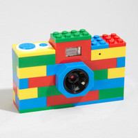LEGO Digital Camera | Classic Brick LEGO Camera | fredflare.com