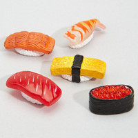 Mini Sushi Magnet Set | Five Miniature Sushi Magnets | fredflare.com