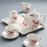 Charmed to a Tea Set | Mod Retro Vintage Kitchen | ModCloth.com