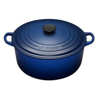 Le Creuset Cast Iron Round French Oven Cobalt Blue 28cm - Free shipping over $100