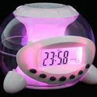 Natural Sound 7Colors Light Alarm Clock
