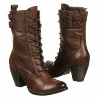MIA Antique Brown Leather Nanette