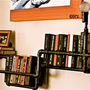 Reserved for Annie Corner Bookshelf by stellableudesigns on Etsy