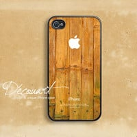 iPhone 4 case, iPhone 4s case, case for iPhone 4, bamboo pattern W338