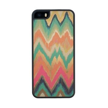 Colorful Bright Chevron Zig Zag Stripe Pattern