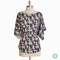cape mead print curvy plus top - $31.99 : ShopRuche.com, Vintage Inspired Clothing, Affordable Clothes, Eco friendly Fashion
