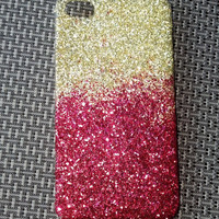 Glitter iPhone Case Faded Ombre