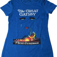 Out of Print Great Gatsby Book Women's Vintage Inspired T-Shirt
