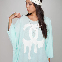 Z. Hovak CC Tee - Seafoam | Timeless Boutique