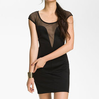 Jump Apparel Mesh Bodycon Dress (Juniors) | Nordstrom