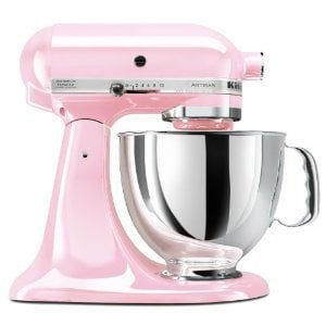 KitchenAid Pink 5-Quart Mixer