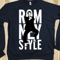 Romney Style (Gangnam Style Sweater) - Romney And Sesame Street