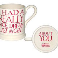 Nice Dream 1/2 Pint Mug Pink