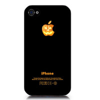 Halloween Pumpkin Apple iphone Case 4 & 4s, vintage, Paris