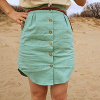 men shirt DIY skirt