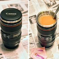 Camera Lens Coffee Mug