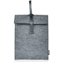 Simple Dark Grey Woolen Felt Ipad Cover