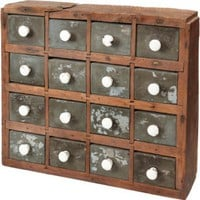 One Kings Lane - Suzanne Golden Antiques - 19th-C. American Spice Chest