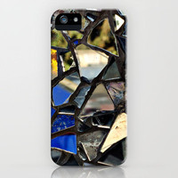 Closeup PHOTO of a Glass Mosaic - iPhone Case by Around the Island (Robin Epstein) | Society6
