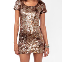 Shimmering Paillette Bodycon Dress | FOREVER21 - 2021841048
