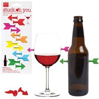 Stuck On You - Drink Markers - Whimsical & Unique Gift Ideas for the Coolest Gift Givers