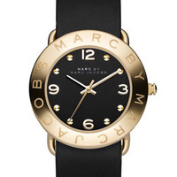 MARC BY MARC JACOBS &#x27;Amy&#x27; Leather Strap Watch | Nordstrom