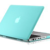 "Osaka ® FROST series Turquoise (special blue) Hard Rubberized Case / Cover for 13"" A1278 Aluminum Unibody MacBook Pro (Black keys, 13.3-inch diagonal screen)"