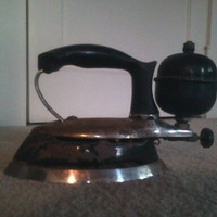 Antique Coleman Gas Clothes Iron