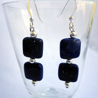 Lapis lazuli earring. Health & Protection