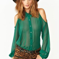 Evie Cutout Blouse