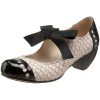 Amazon.com: ALL BLACK Women's Fish Bow Mary Jane Pump: Shoes
