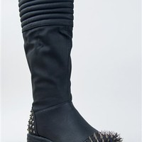 Dollhouse ARMOR Studded Spike Boot | Shop Dollhouse Shoes
