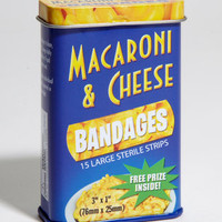 Mac & Cheese Bandages | Cheesy Bandages | fredflare.com