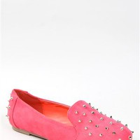 Nature Breeze LEILA-11 Spiked Loafer Flats | Shop Shoes