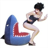 Biting Bean Bags - The Shark Bean Bag Cover Targets Your Tushie