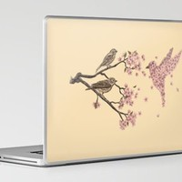 Blossom Bird Laptop &amp; iPad Skin by Terry Fan | Society6