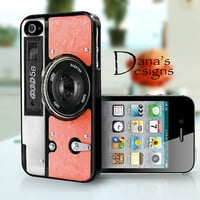 peach camera - iPhone 4S and iPhone 4 Case Cover