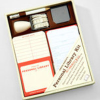 Personal Library Kit | Personal Lending Library Set | fredflare.com