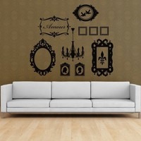 Vinyl Wall Sticker Decal Art  Frame it by urbanwalls on Etsy
