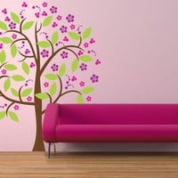 Vinyl Wall Sticker Decal Art  Girly Girl Tree by urbanwalls