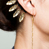 Gold Hawk Ear Dress