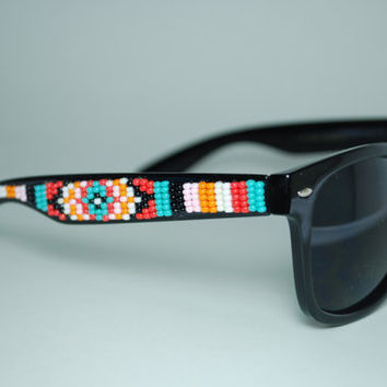 beaded sunglasses